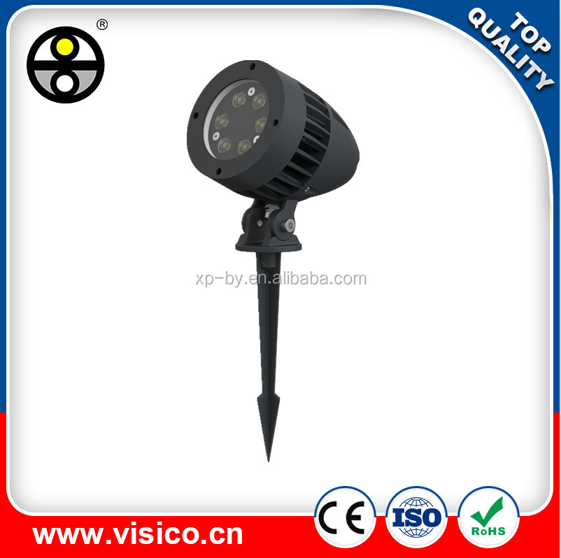 VISICO VF802D outdoor waterproof AC85-265V DC12V 6W 12W 18W LED spike light