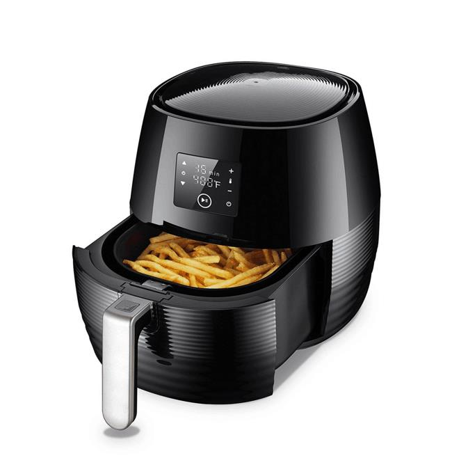 The popular digital LCD controlling mode power air fryer