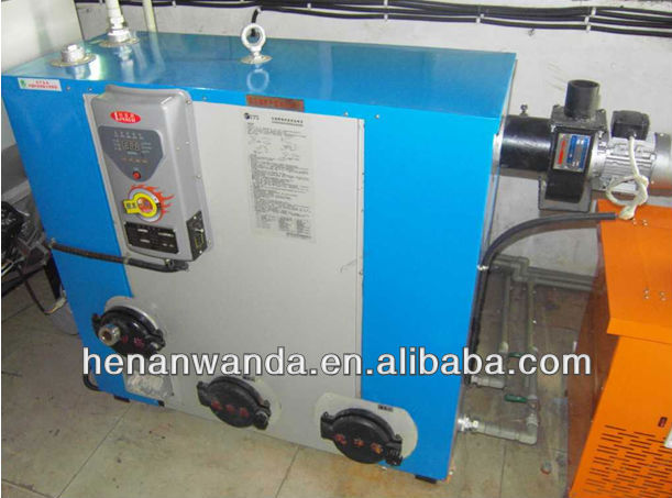 small size biomass hydronic heating boiler