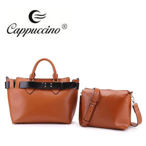 f7cb4c0e23 Newest design Factory direct made high quality 2-in-1 Satchel ladies  leather handbag