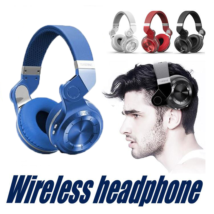Original Bluedio T2 Bluetooth Stereo Headphones Wireless Bluetooth 4.1 headset Over The Ear Headphone