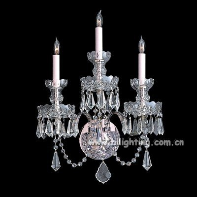 Crystal Wall Sconces plaster sconce wall light