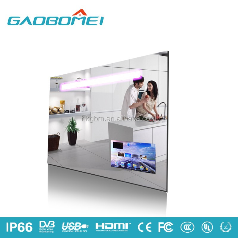 Designer Mirror With Led Light And TV For Bathroom In Shenzhen