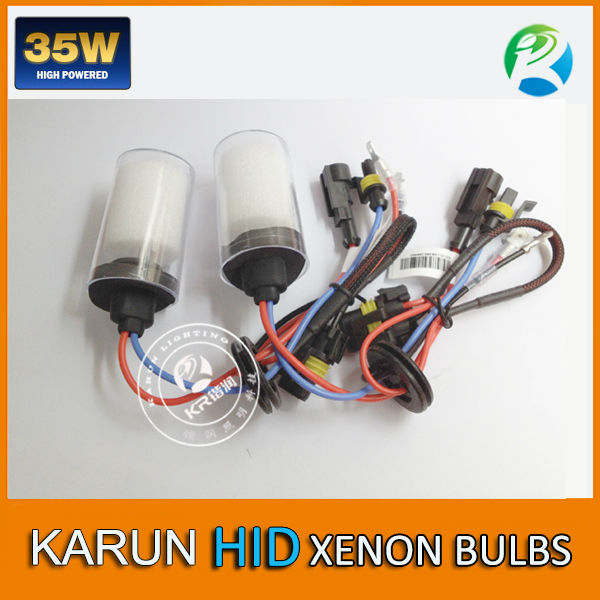 KARUN Hot Sale hid flash light red hid lamp and hid h7 short bulb