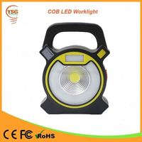 Battery Powered Micro USB Charging Portable Cordless Rechargeable LED Work Light