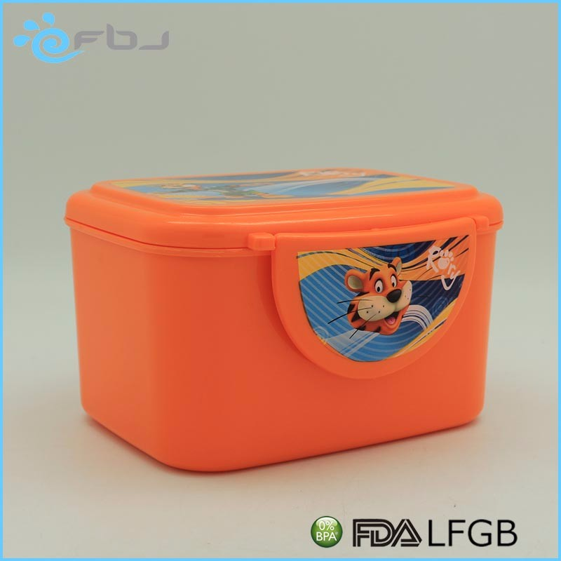 hot sale new design branded adult plastic lunch box . * / ~