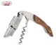 Stainless Steel Waiters Friend Corkscrew, All-in-one Wine Beer Bottle Opener, Wine Corkscrew With Rosewood Handle & Foil Cutter