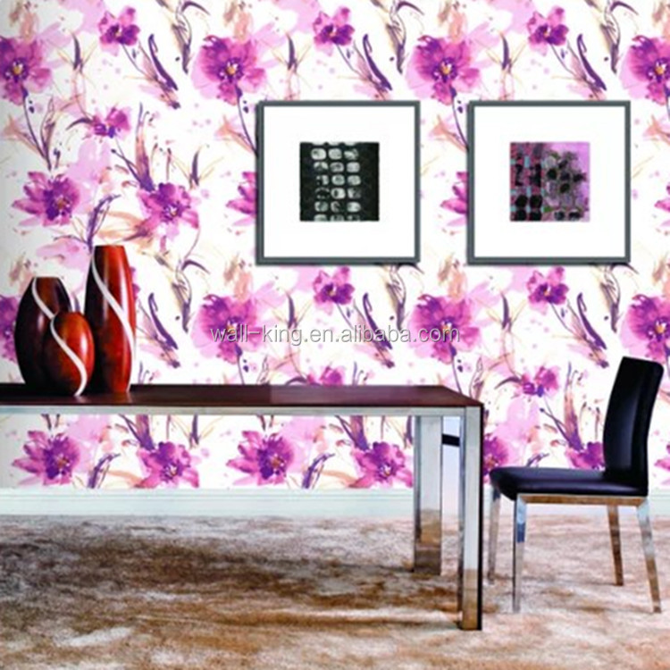 chinese wholesale wallpaper/painting flower