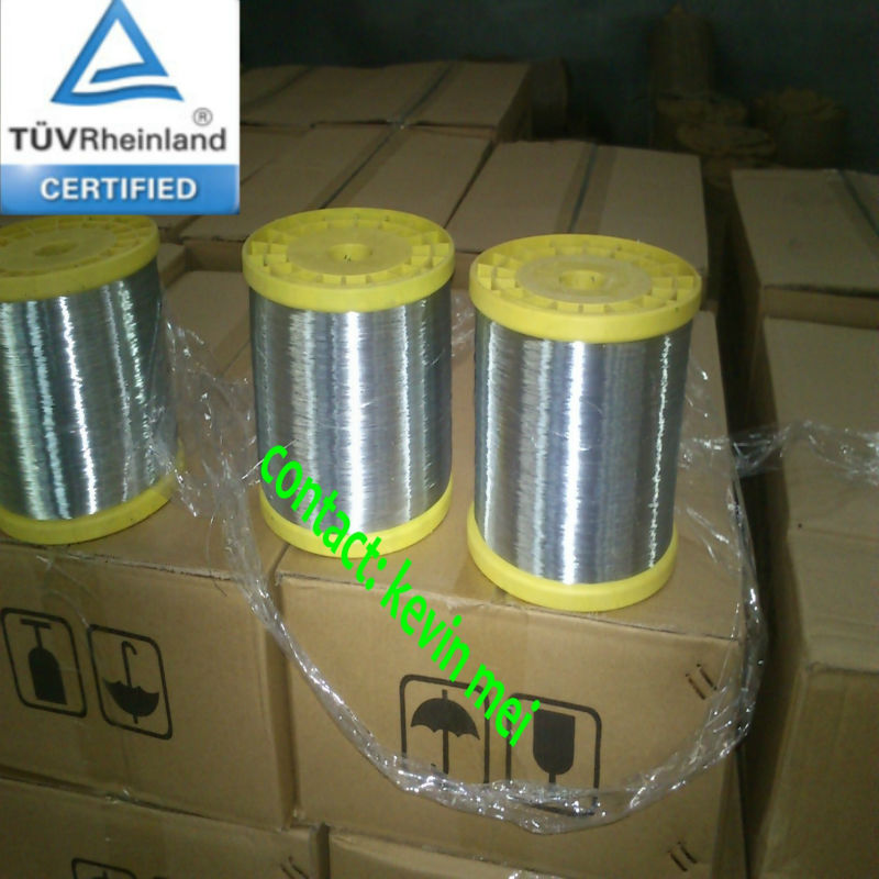 in spool galvanized hot dipped wire 0.23mm 0.25mm 0.28mm