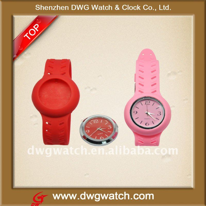2011 Hotsale Silicon Watches Colours For Young People