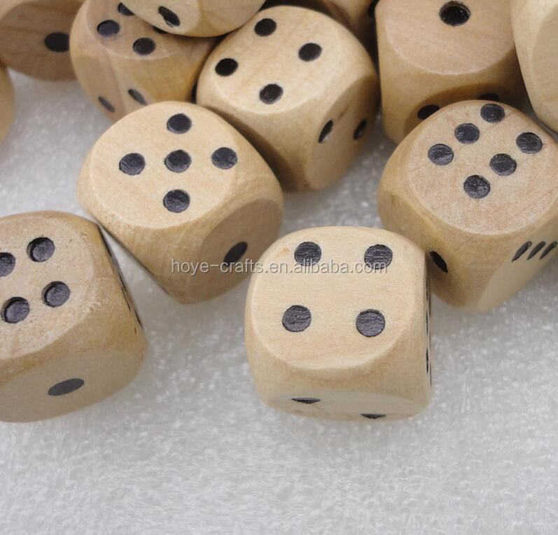 10mm wooden dice for board games