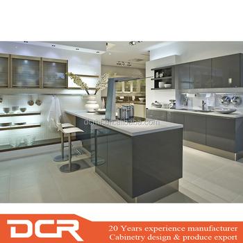 Cheap Price High Quality Custom Whole Set Aluminium Kitchen