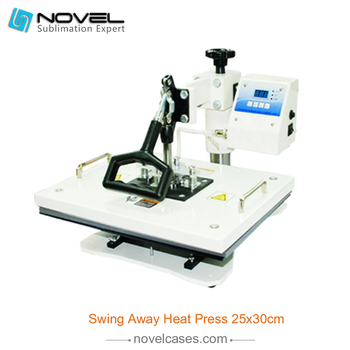 Universale DIY Digital Swing away Heat Press Machine For T-shirt
