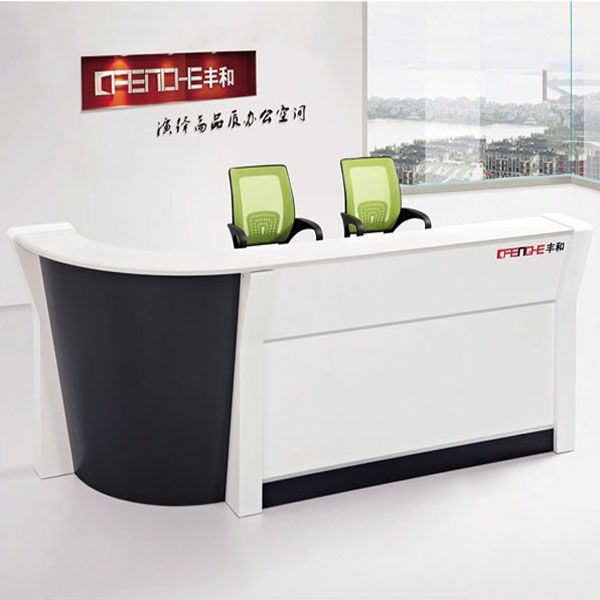 modern beauty marble hotel receptions desk LHQ-003