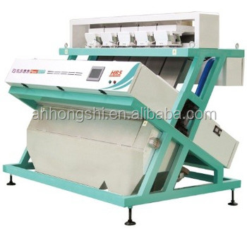 5 Chute CCD Camera Rice Color Sorter Sorting Machine