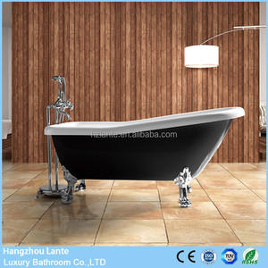 Classic Design Freestanding Claw Foot Baby Bath Tubs in Black