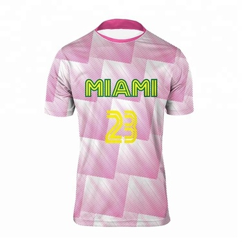 7dfcbbcc273 Women Color Pink Latest Football Jersey Custom Sublimated Soccer Jersey  Design Patterns
