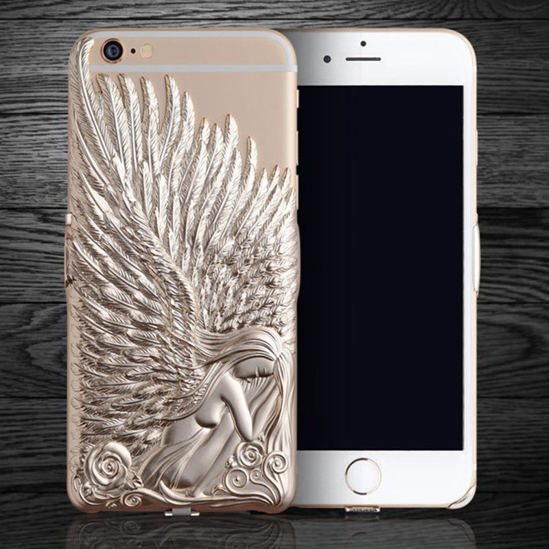 2016 Angel Wing 3D Effect Phone Case For i Phone 6s Case