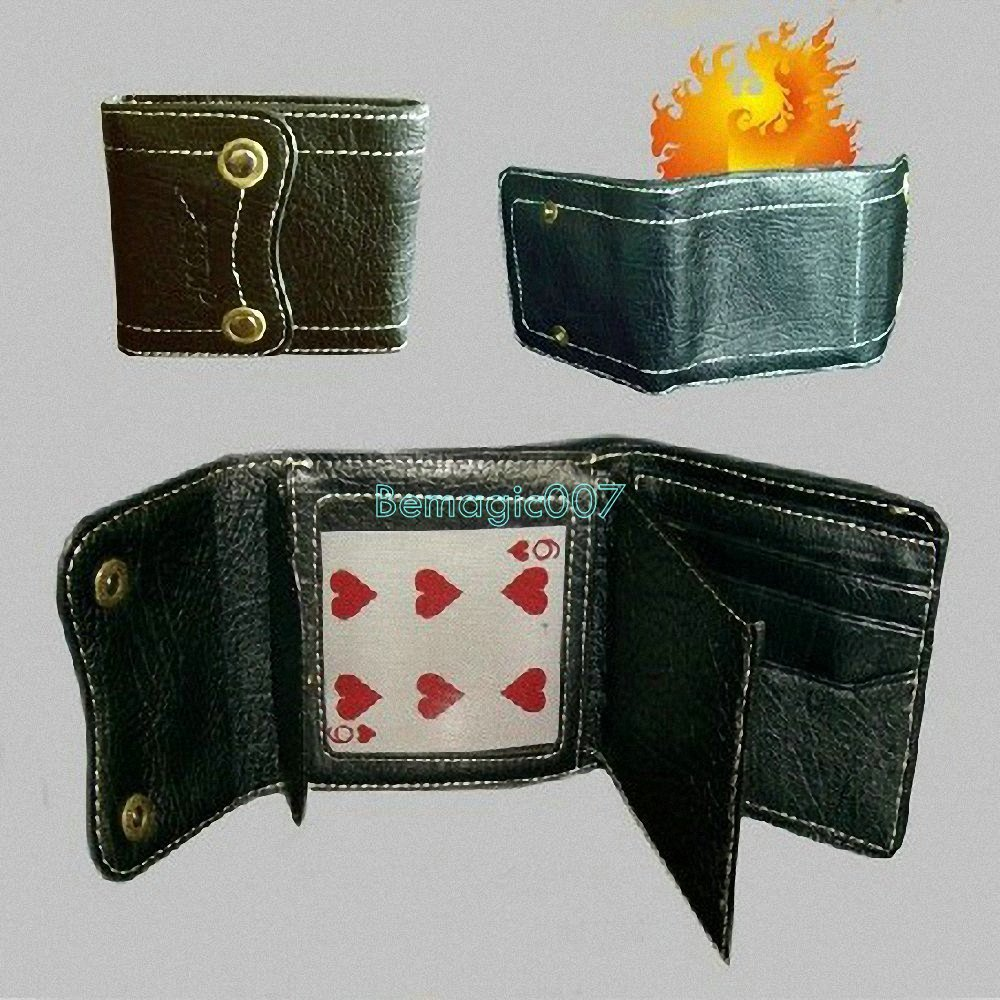 2 in 1 Fire Wallet+Card to Wallet - Fire Magic Tricks