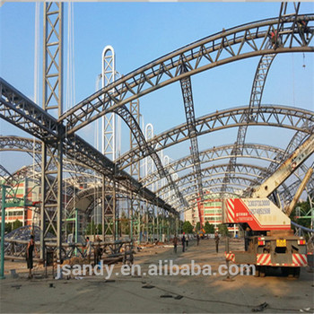 Easy Installation Light weight Steel Construction Canopy Roof Trusses : light weight canopy - afamca.org