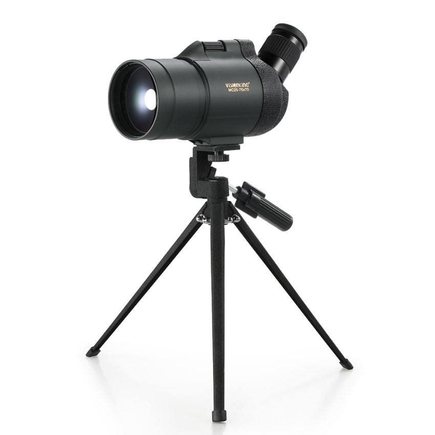 Visionking Spotting scope 25-75X70 long distance zoom spotting telescope monocular for wildlife observation scopes