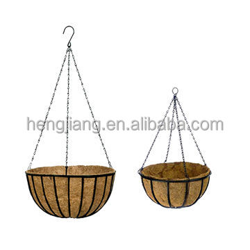 metal hanging baskets / metal wire baskets for storage