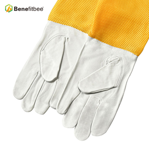 bee keeping fashional bee gloves ,factory price bee protective glove hot sale