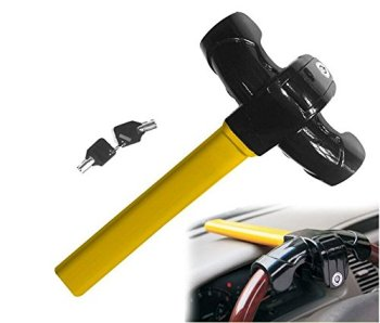 Car Stainless Steel Steering Wheel Lock