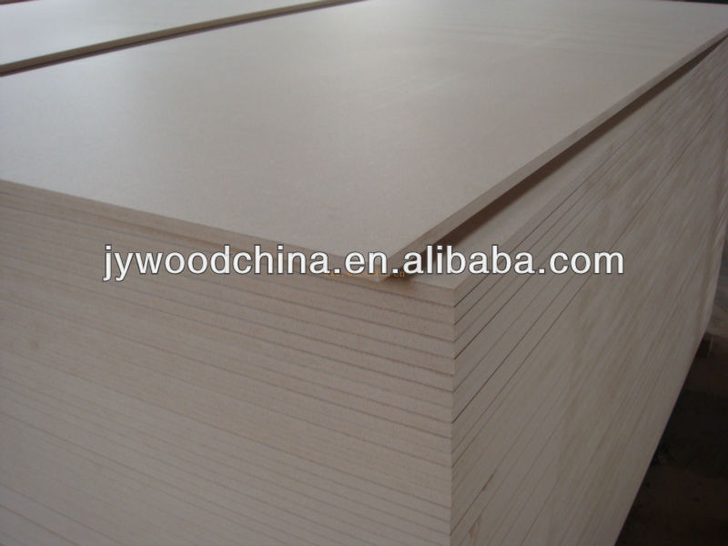 Off-white Melamine Faced Mdf Board