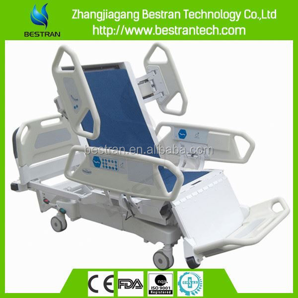 Hospital ICU room 8 functions Electric cheap price hospital icu ward electric bed