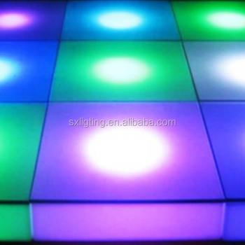 led stage light led floor tile led flashing ground tile customized