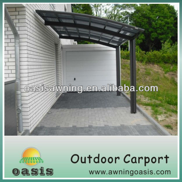 large space canopy garage