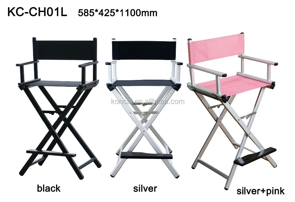 Whole In Stock Tall Lightweight Aluminum Folding Director Chair