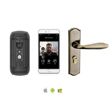 Best Face Recognition Smart Home Door Lock With Remote Access - Buy Best  Smart Door Lock,Smart Lock,Smart Home Lock Product on Alibaba com