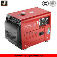 5kw 5kva silent diesel generator price engine by Yanmar technology supply