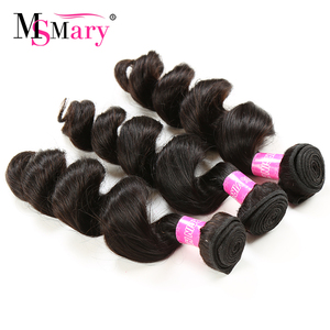 Ms Mary Stock Peruvian Virgin Remy Hair Free Sample Hair Bundle Best Selling Products 2017 in USA