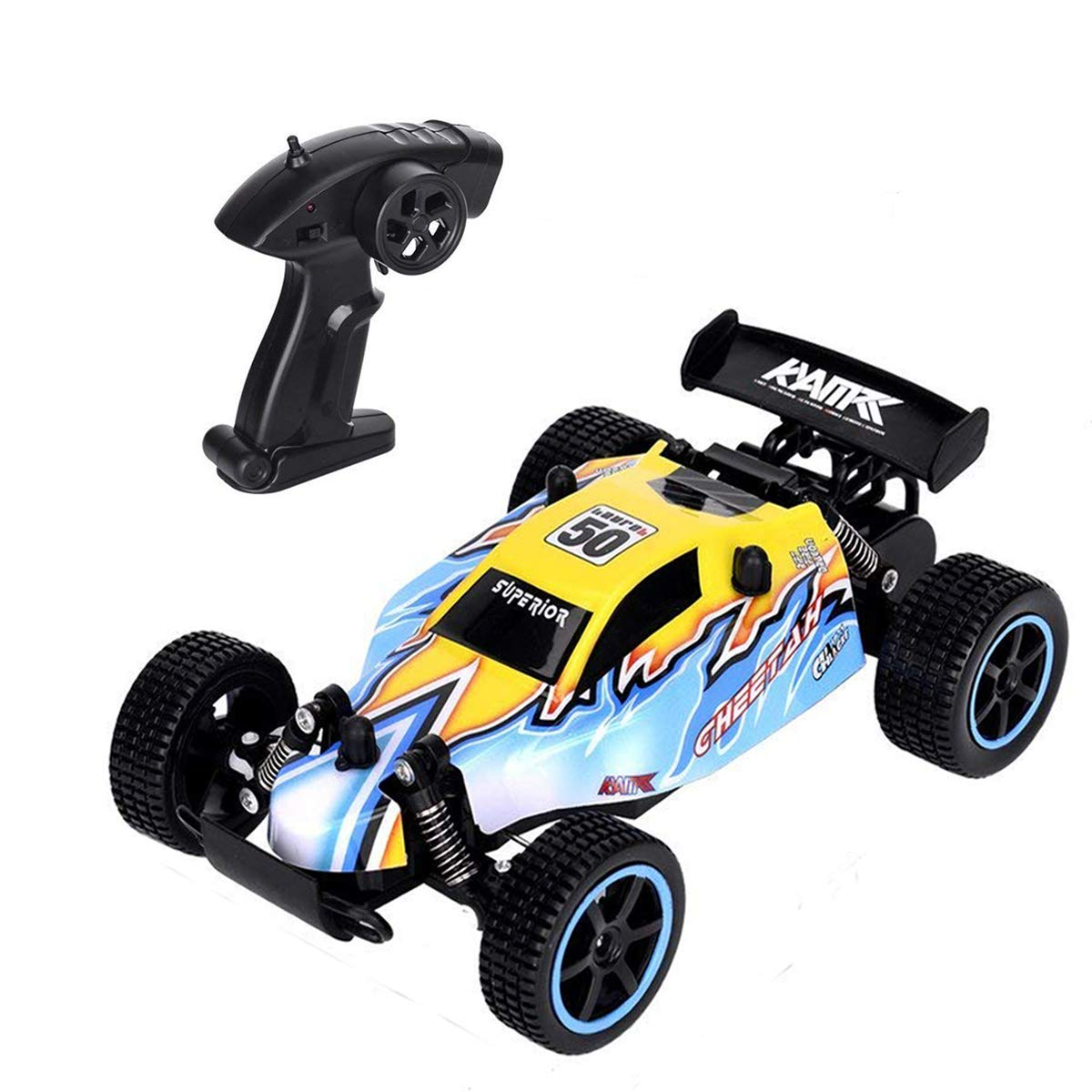 Vinciph RC Car 2WD Remote Control Car,RC Truck 1:20 Scale, 2.4 GHz Radio Controlled Vehicle High Speed, Electric Race Car Fast Racing Drifting Buggy Hoppy Car for Kids