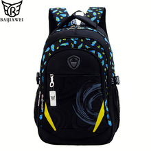 2016 New Children School Bag Alleviate Burdens Unisex Kids Backpack Casual Bags Backpacks For Teenage School bag