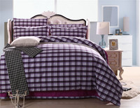 bright color manufacter 100% linen plaid jacquard style bamboo bed sheets,bamboo bed sheet sets
