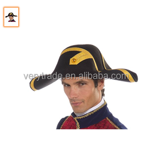 401734c51 100% australia wool felt bicorn hat