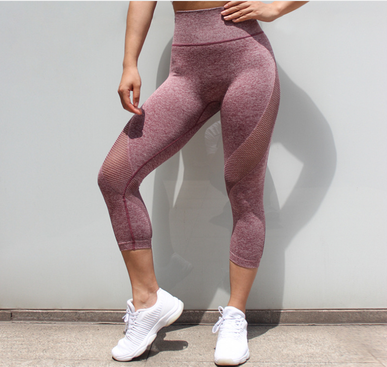 Small MOQ Custom Private Logo Service Seamless Nylon Styles Cheap wholesale womens leggings seamless