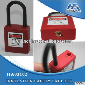 LOTO System, Padlock Shrouded, All Insulated Padlock