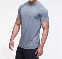 Men dry fit workout t shirts special cutting adult tee muscle fit t-shirt fitness mens cotton sport t-shirt