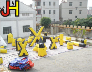 23pcs Cheap Inflatable Paintball Air Bunker For Laser Tag Game