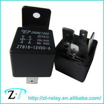 Zt 12v 24v 4pin 5pin 80a 100a Pcb Auto Relay Relay Datasheet Buy
