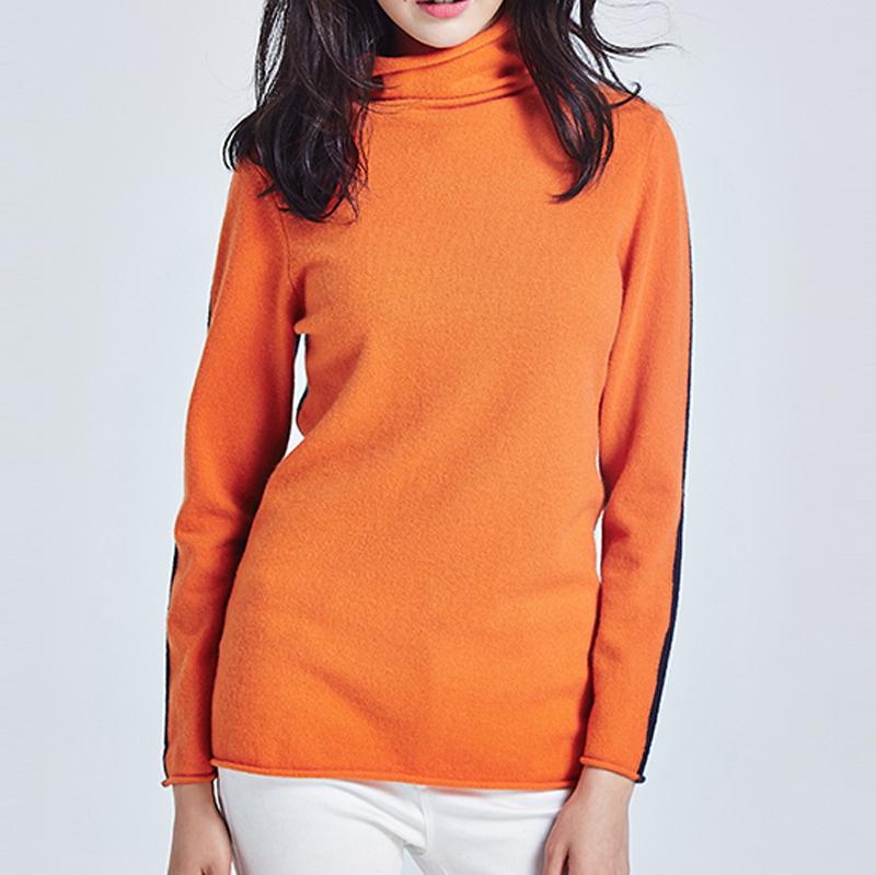 100 kaschmir pullover pullover für frau kabel stricken kollision farbe pullover