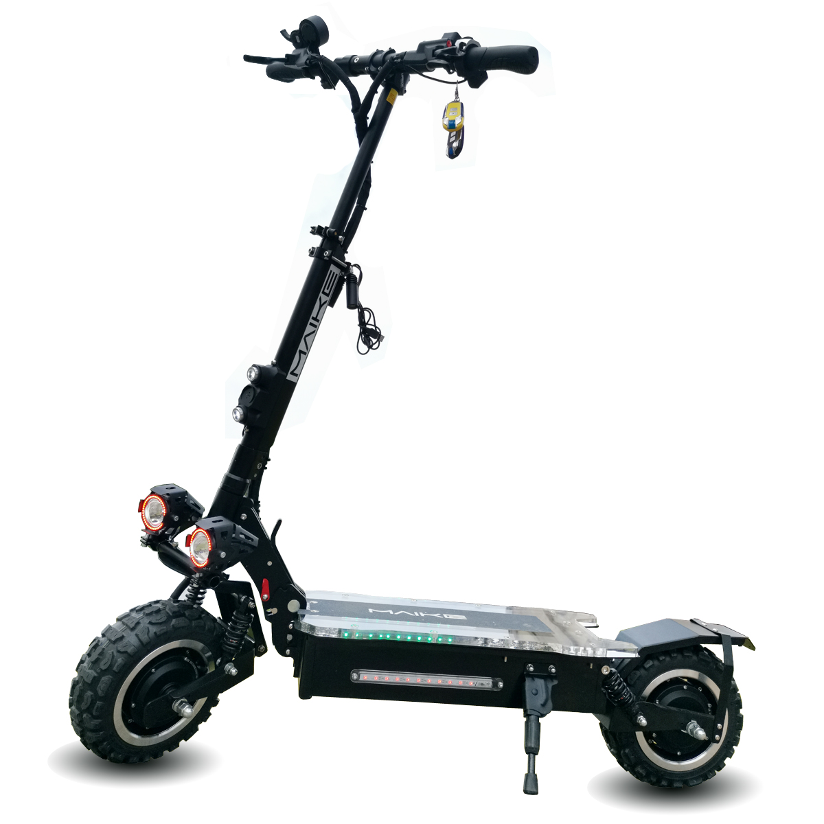 11 Inch 1600W*2 Dual Motor Electric Mobility Scooter For Adults, Black