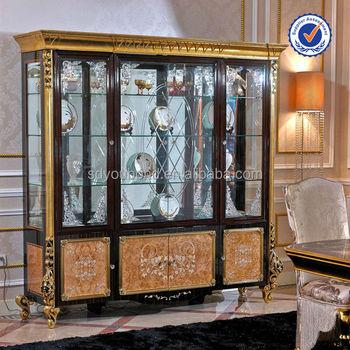 0061 High Quality Home Furniture Curio Cabinet Gl Showcase