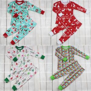 kids clothing wholesale christmas pajamas family pajamas kids clothing sets fashionable
