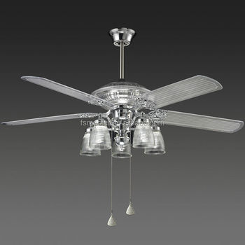 Acrylic blades hanging fan natural wind ceiling fan with light buy acrylic blades hanging fan natural wind ceiling fan with light aloadofball Images